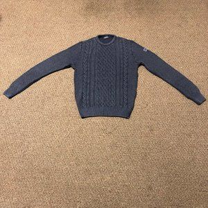 paul shark cable wool sweater
